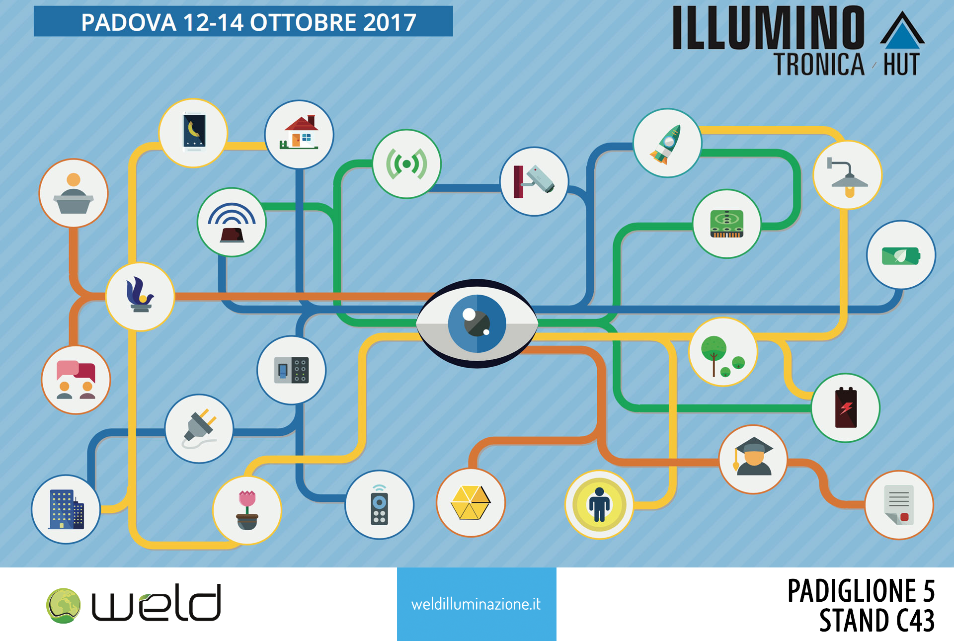 Weld a Illuminotronica | Padova | 12-14 Ottobre