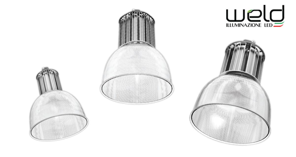 SIRIO B - sospensioni LED con diffusore