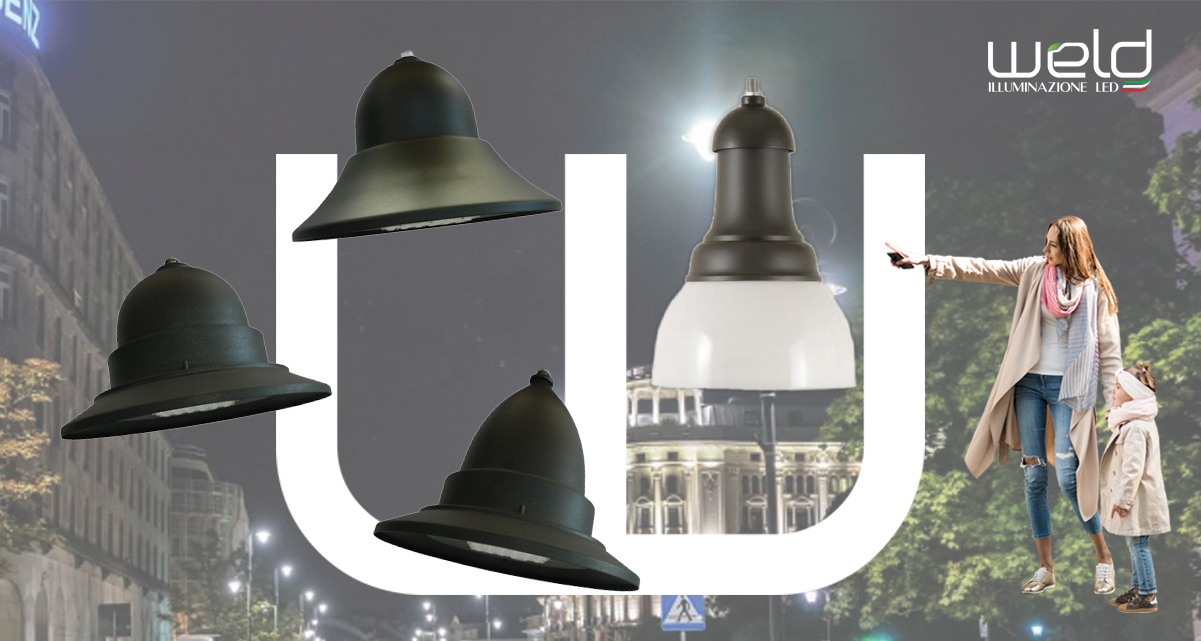PEGASO LRS - lanterne rotonde LED sospese